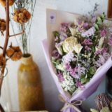 ドライフラワーの花束