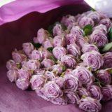 ライラッククラシックの花束